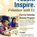 Volunteer with us this summer!