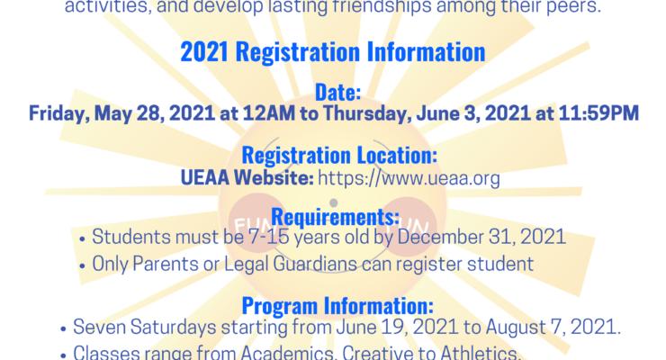 Fun Fun Saturday 2021 Registration